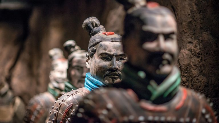 ''The Terracotta Warriors of the First Emperor'' opens in September at the Franklin Institute. The 6,000-square-foot exhibition will feature 10 life-size clay soldiers and 164 artifacts, interactive components, and augmented reality experiences. (The Franklin Institute)
