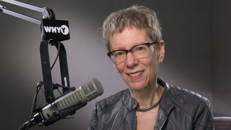 Terry Gross has one of the most famous voices in radio, but sometimes she doesn't recognize her own voice! (Daniel Burke/for WHYY)