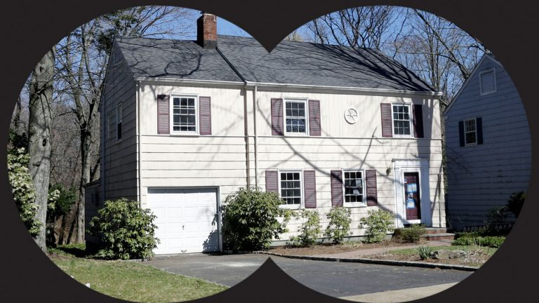 This April 6, 2013 photo shows a home at 31 Marquette Road in Montclair, N.J.It was used by Russian spies before their arrest in 2010 by the FBI. (AP Photo/Mel Evans)