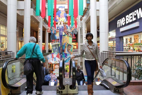 <p>Pennsylvania Real Estate Investment Trust is seeking concessions from the city to help redevelop The Gallery mall in Center City. (Emma Lee/for NewsWorks)</p>