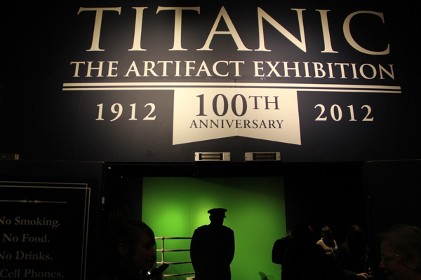 <p>The Franklin Institute's new exhibit features more than 300 artifacts recovered from the wreck. (Emma Lee/for NewsWorks)</p>