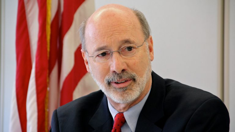 Pennsylvania Governor Tom Wolf (Emma Lee/WHYY)