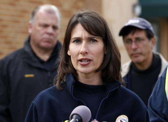 <p>&lt;p&gt;National Transportation Safety Board chairman Deborah Hersman answers a question in Paulsboro, N.J., Saturday morning, Dec. 1, 2012. (AP Photo/Mel Evans)&lt;/p&gt;</p>