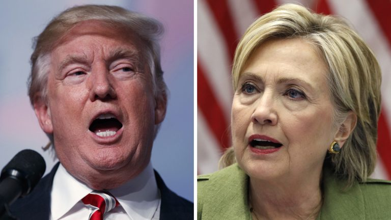 From left: Republican presidential candidate Donald Trump (AP Photo/Evan Vucci, File) and Democratic presidential candidate Hillary Clinton (AP Photo/Carolyn Kaster, File)