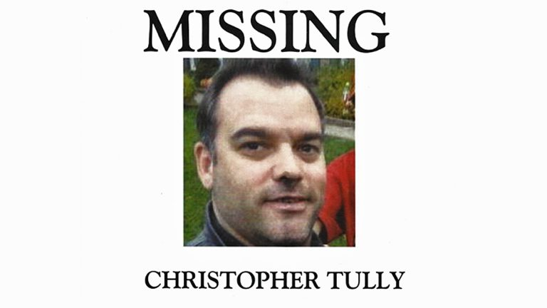 Christopher Tully, last seen January 6, 2015, near the off-ramp of 76 West at Ridge Avenue and Lincoln Drive, walking towards City Line Avenue (Image courtesy of Eddie Tully)