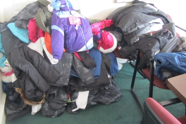 <p>&lt;p&gt;Organizers were also collecting coats this year for needy families.&#xA0;(Mark Eichmann/WHYY)&lt;/p&gt;</p>