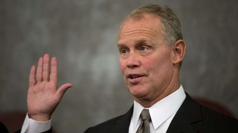 Rep. Mike Turzai, R-Allegheny, takes the oath as Speaker of the Pennsylvania House of Representatives.  (AP Photo/Matt Rourke)