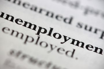 "<a href=""https://www.bigstockphoto.com/image-94930778/stock-photo-unemployment"">Close up of a dictionary word Unemployment (photo/bigstock)</a>"