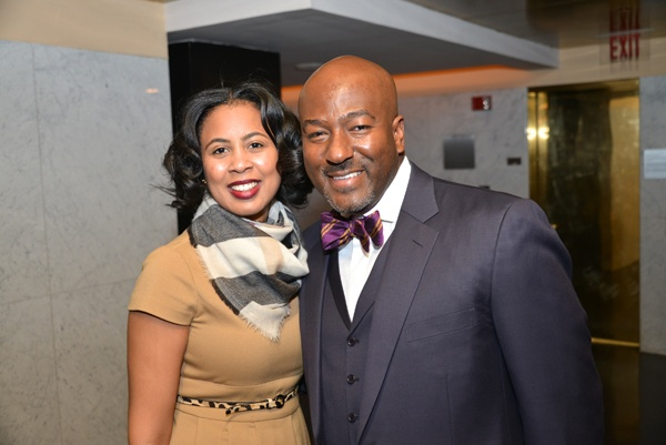 <p><p>Rev. Tamieka N. Moore of Tenth Memorial Baptist Church with former colleague and Urban League board member Rev. Kevin Johnson of Bright Hope Baptist Church (Photo courtesy of Paul Coker)    </p></p>