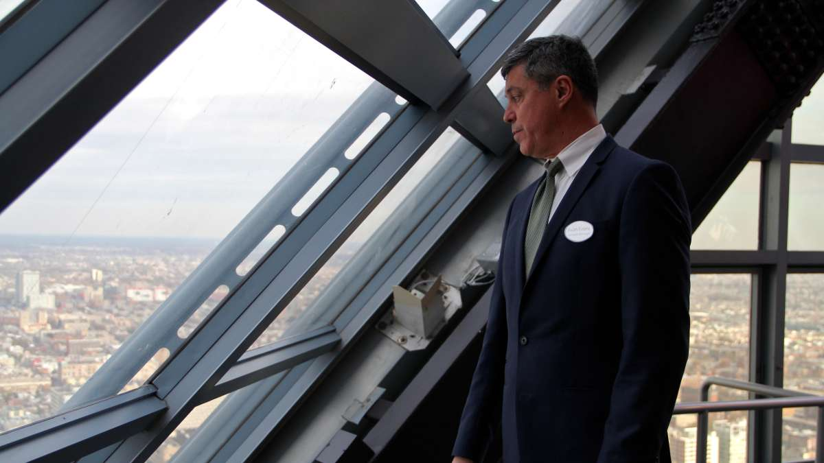 Evan Evans, general manager of One Liberty Observation Deck, anticipates that the attraction will draw half a million visitors per year.