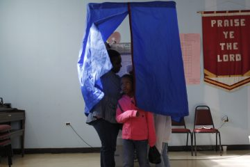 Voters in Pennsylvania's primary election in 2012. (Matt Rourke/AP Photo)