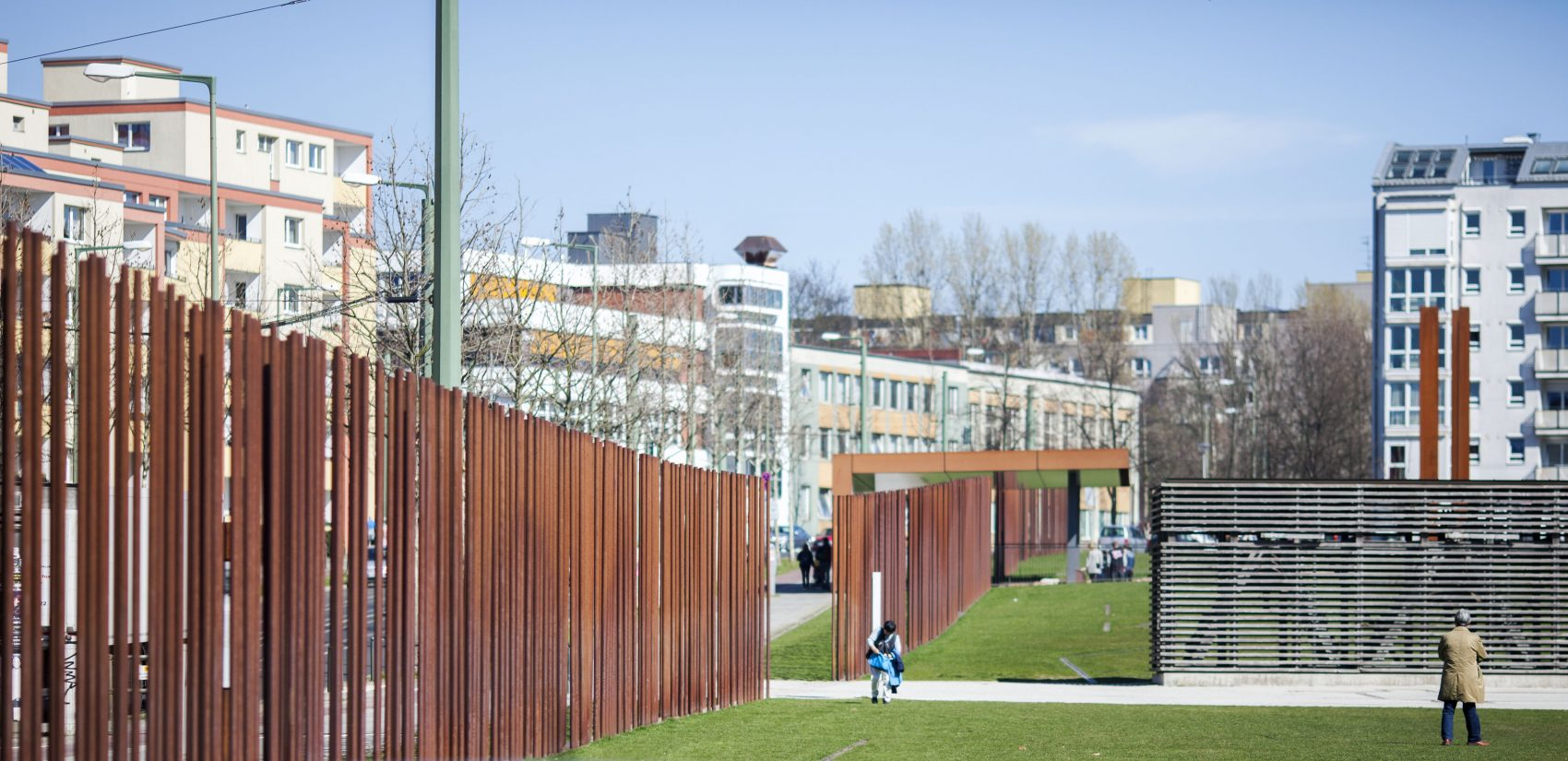 </b> The Berlin Wall Memorial stands where the physical border of former East and West Berlin once was. It is now thought of as a social barrier dividing the district of Mitte. (Jessica Kourkounis/For Keystone Crossroads)