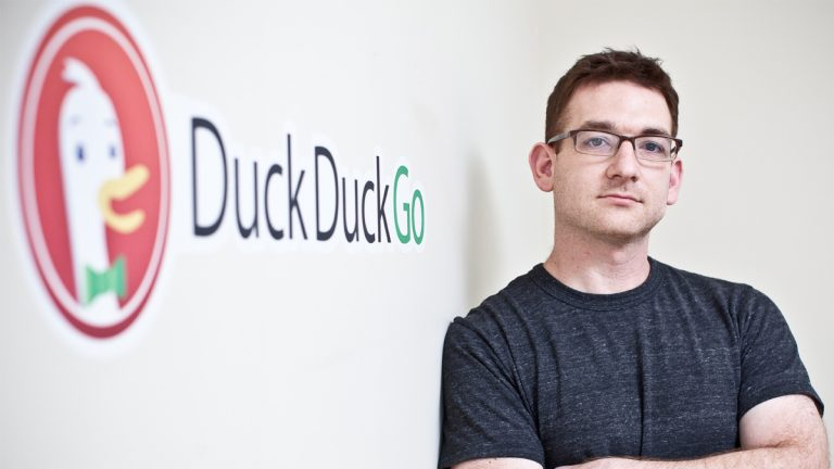 DuckDuckGo Founder Gabriel Weinberg says traffic to the search engine has grown since users began looking for ways to keep their online data private. (Photo courtesy of DuckDuckGo)