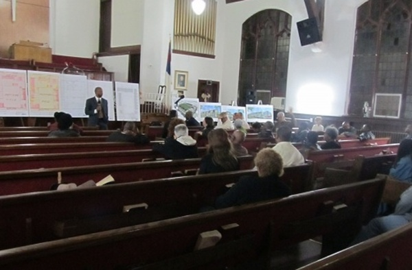 <p>&lt;p&gt;About 30 residents attended a community meeting at Mt. Moriah Baptist Church in October to talk about the&#xA0;Philadelphia Housing Authority's plans to demolish a decaying high-rise in Germantown and replace it with a brand new set of rental units&#xA0;(Aaron Moselle/WHYY)&lt;/p&gt;</p>