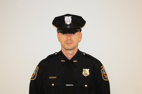<p>Wilmington Police Department Patrolman Justin Wilkers was was shot during a traffic stop early Sunday afternoon. (Wilmington Police Department)</p>