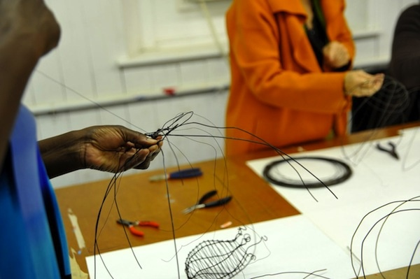 <p>&lt;p&gt;Each wire vessel will be unique, which is what Mamacita members were hoping for when they called on volunteers to help with the project. (Anna Flint/for NewsWorks)&lt;/p&gt;</p>