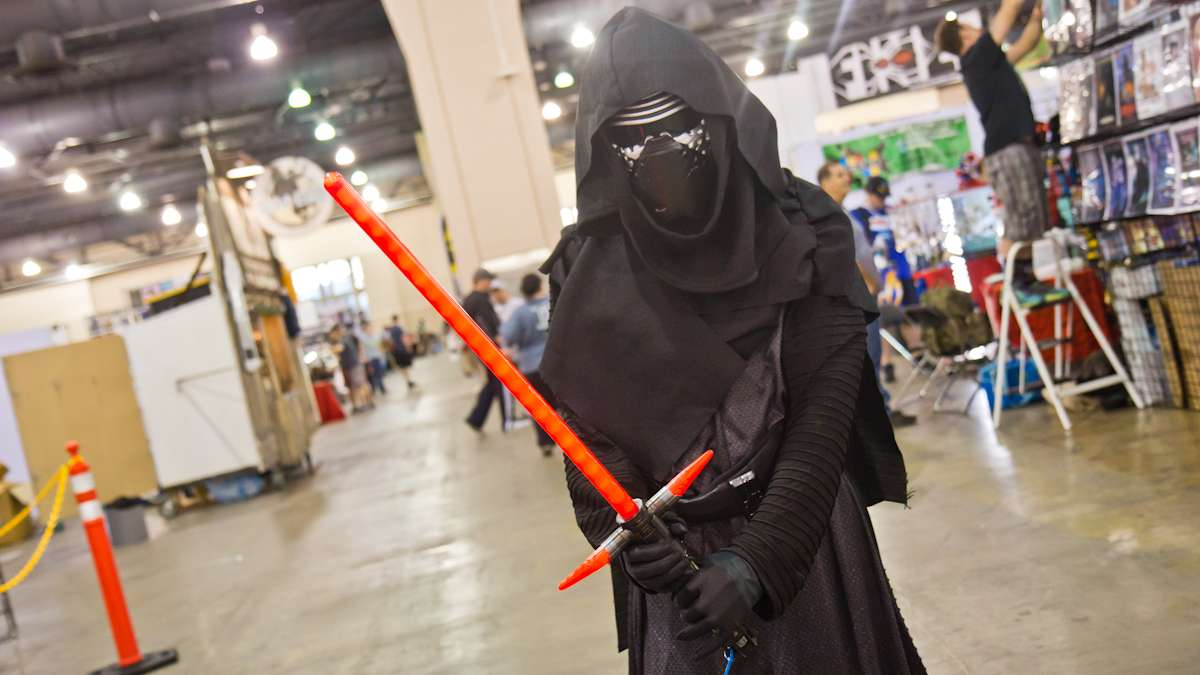 Kenny Downs as Kylo Ren.