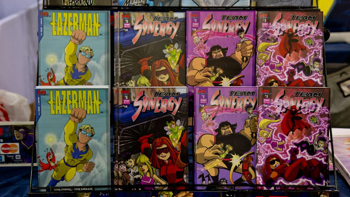 Team Synergy is a comic geared toward young girls by HB Comics.