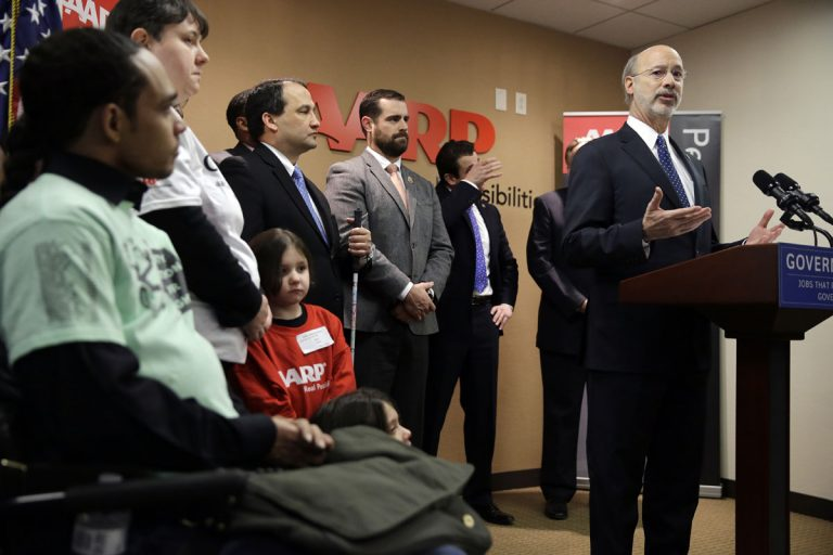 Earlier this year, Gov. Tom Wolf announced budget initiatives and actions to allow more seniors to continue living in their homes as they age. The plan includes boosting the state's home care workforce. (AP Photo/Matt Rourke)