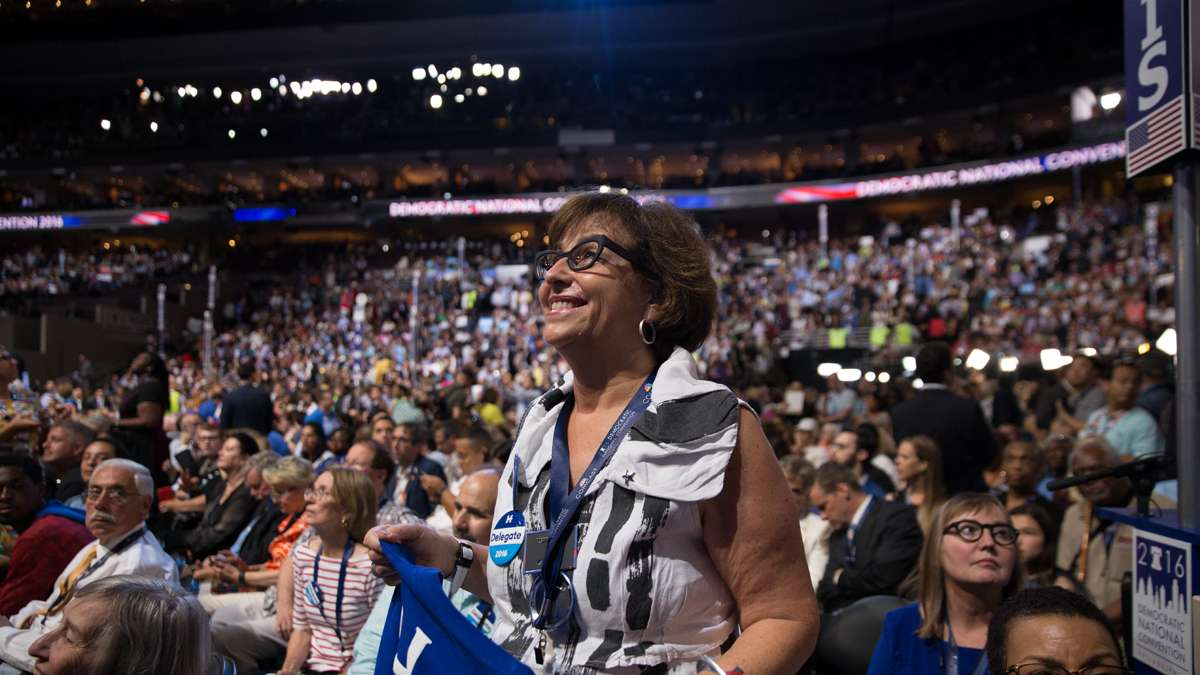 ''We've been fighting for Hillary to represent us for a very long time,'' said Jan Kallish, a delegate from Chicago. ''It means everything to me.''
