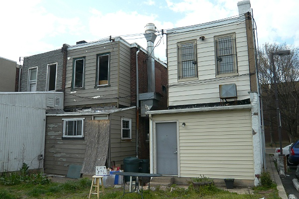 <p>&lt;p&gt;A view of the back of the building of 24 E. Mt. Airy Ave. (Alan Tu/WHYY)&lt;/p&gt;</p>