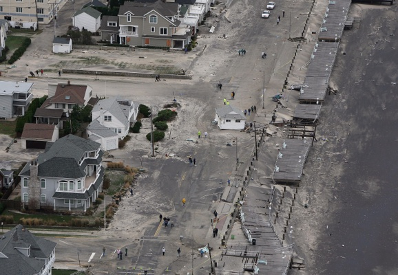 <p>&lt;p&gt;In this photo made available by the New Jersey Governor's Office, a building sits in the middle of the road in Belmar, N.J. on Tuesday, Oct. 30, 2012. (AP Photo/New Jersey Governor's Office, Tim Larsen)&lt;/p&gt;</p>
