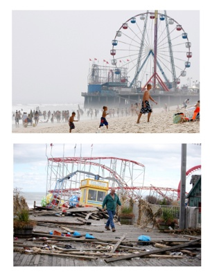 <p>&lt;p&gt;Before and after of the Funtime Pier in Seaside Heights, N.J. (AP Photo/Mel Evans) Bottom (AP Photo/Star-Ledger, David Gard/POOL)&lt;/p&gt;</p>