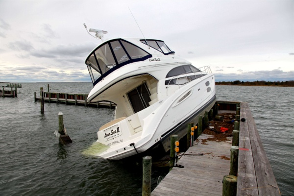 <p>&lt;p&gt;This is boat washed onto at dock by superstorm Sandy in Ship Bottom on Long Beach Island, N.J. on Thursday, Nov. 1, 2012. (AP Photo/Robert Ray)&lt;/p&gt;</p>