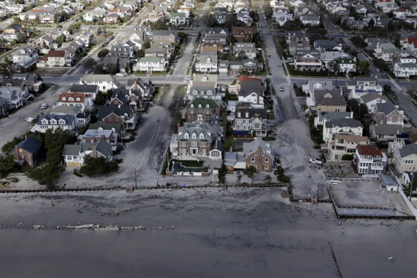 <p>&lt;p&gt;This aerial photo shows on Wednesday, Oct. 31, 2012, in Seaside Heights, N.J. (AP Photo/Mike Groll)&lt;/p&gt;</p>