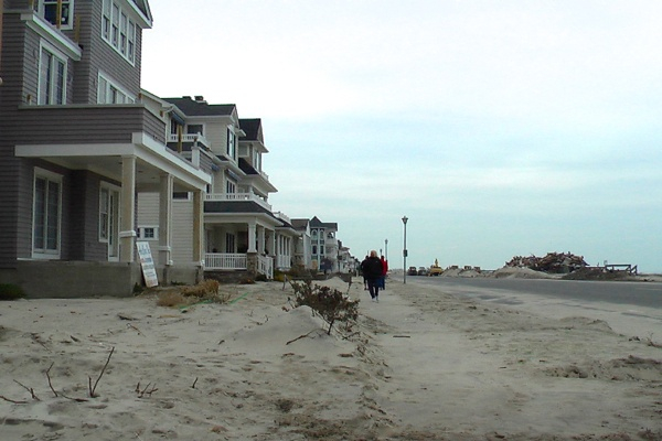 <p><p>Ocean and 15th avenues in Belmar nearly two-weeks after Superstorm Sandy hit. (Alan Tu/WHYY)</p></p>