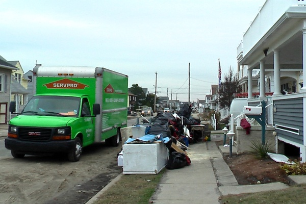 <p><p>Many of the sidewalks were full of discarded furniture and mattresses. (Alan Tu/WHYY)</p></p>