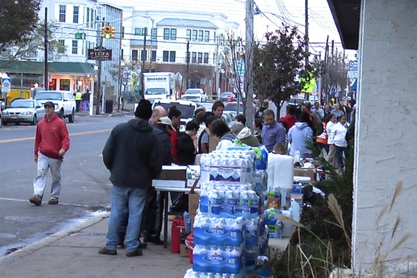 <p><p>This emergency food station in Belmar has been serving hot meals for nearly two weeks. (Alan Tu/WHYY)</p></p>