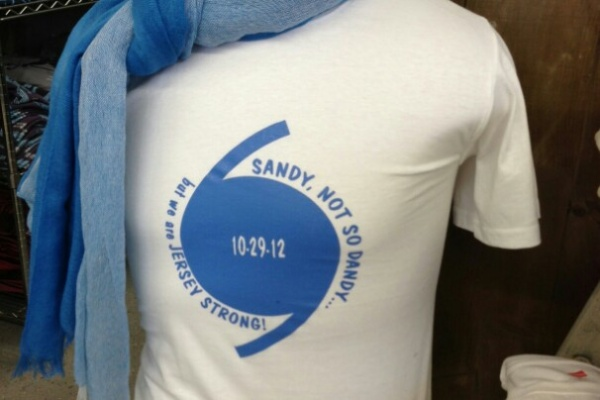 <p>&lt;p&gt;&lt;span style=&quot;font-family: monospace; font-size: 13.714285850524902px;&quot;&gt;Tshirt at the Flying Fish Studio, which is replacing its carpet after Sandy flooding (though no merchandise was damaged0&lt;/span&gt;&lt;/p&gt;</p>