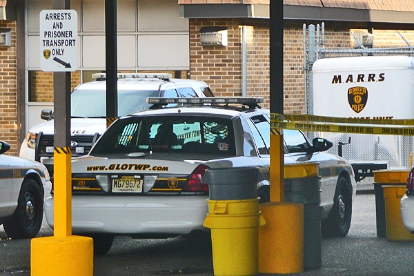 <p><p>This is where Eddie Jones III first arrived at the Gloucester Twp. Police Station. (Alan Tu/WHYY)</p></p>