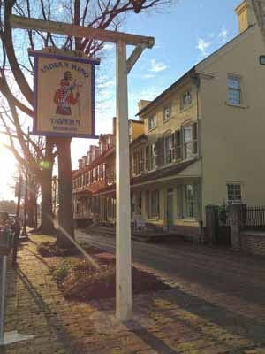 <p><p>As part of Haddonfield's Tricentennial celebration, the Indian King Tavern will host a reading of the Declaration of Independence on the Fourth of July. (Bethany Mitros/for NewsWorks)</p></p>