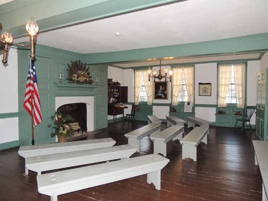 <p><p>This room at the Indian King Tavern hosted New Jersey's General Assembly during the Revolutionary War in 1777. (Bethany Mitros/for NewsWorks)</p></p>