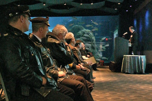 <p><p>The Cooper Ferry's Partnership meeting was held at the aquarium. (Alan Tu/WHYY)</p></p>