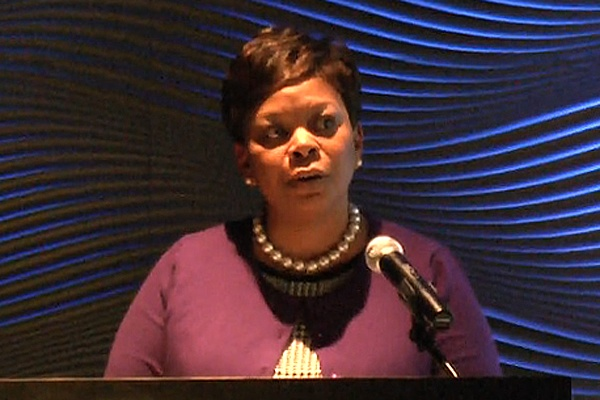 <p>&lt;p&gt;Mayor Redd said public safety is her number one priority and that the new Metro Police Force will mean Camden will soon have more police officers. (Alan Tu/WHYY)&lt;/p&gt;</p>