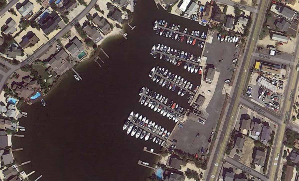 <p>How the Harbour Yacht Club looked before Superstorm Sandy. (Photo courtesy of NOAA)</p>