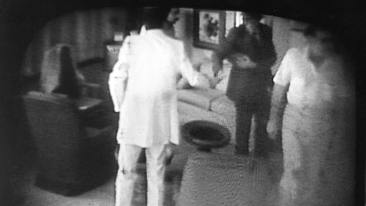Photo taken from an NBC-TV monitor shows one of the videotapes made by undercover FBI agents during the Abscam political corruption probe. (AP Photo)