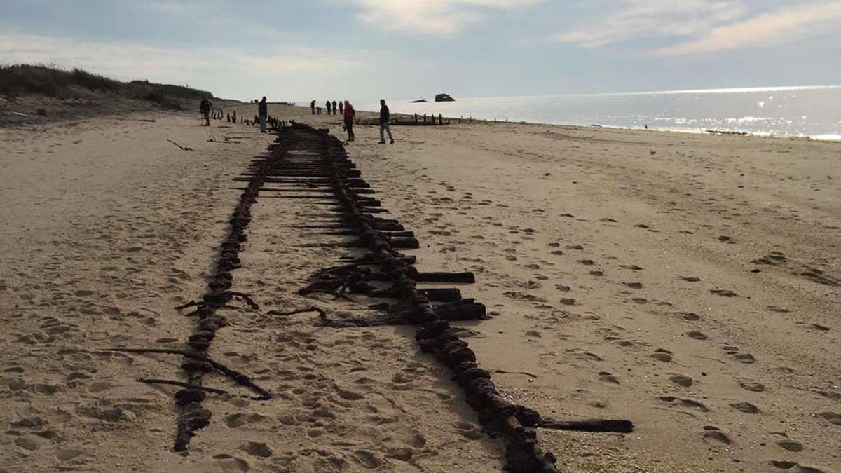 Nearly Century Old Railroad Tracks Reappear In Cape May