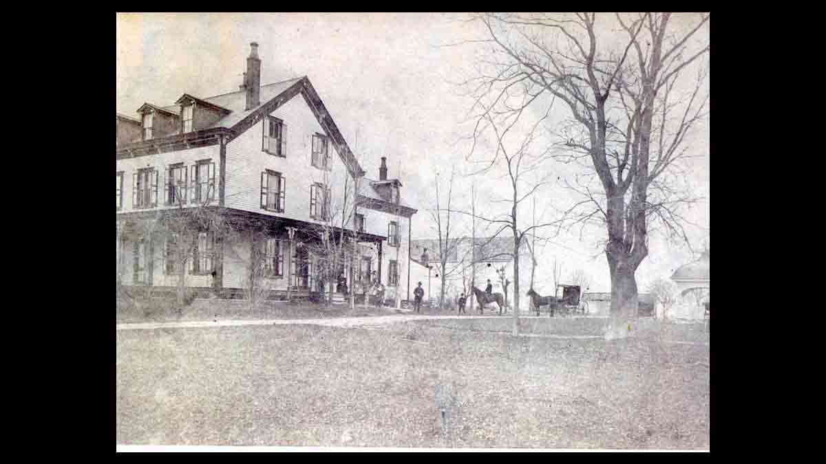 Abraham Browning's Cherry Hill Farm. (Image courtesy of the Cherry Hill Historical Commission)