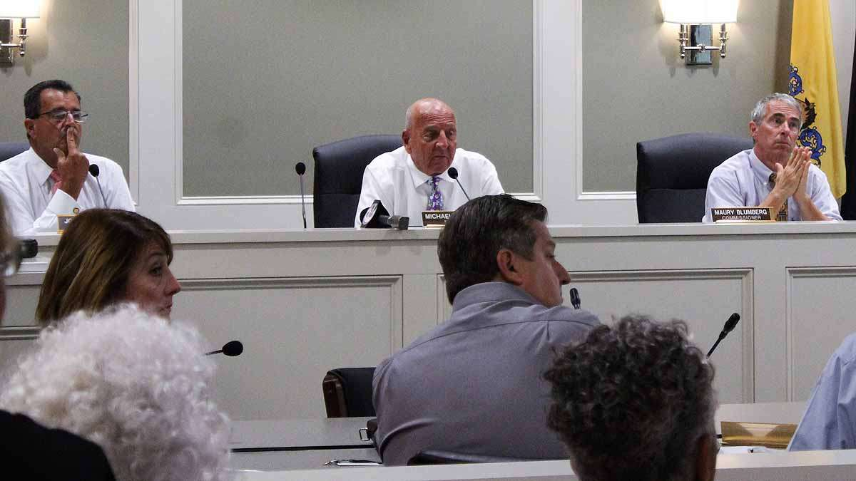 Margate's Board of Commissioners heard from many residents who complained the dune project is hurting their town.