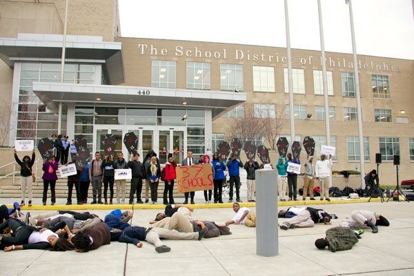 <p>Students are calling for a moratorium on school closings until an analysis of the impact has been conducted.</p>