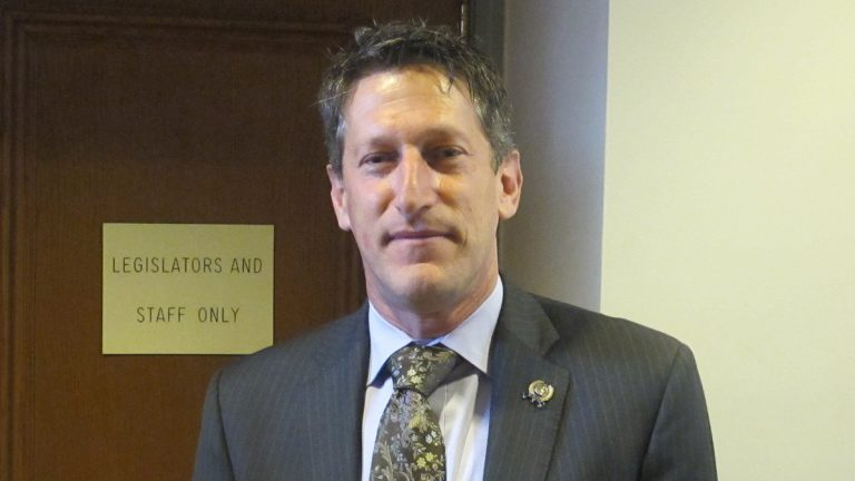 Assemblyman Andrew Zwicker. (Phil Gregory/WHYY)