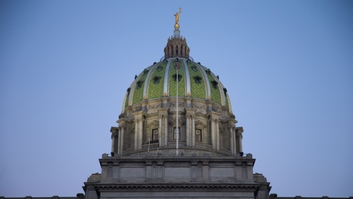 The Capitol dome in Harrisburg, Pa. (AP, file)