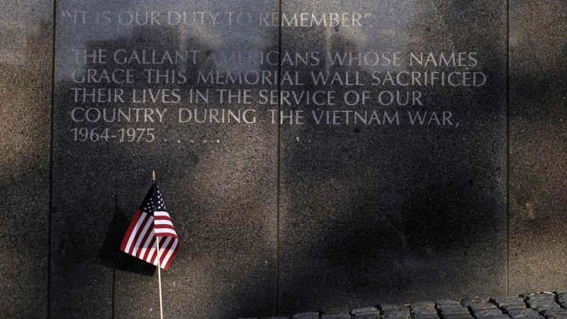 Ten Philadelphia soldiers missing in action are remembered during a ceremony marking the 30th anniversary of the Philadelphia Vietnam Memorial at Penn's Landing on Friday.