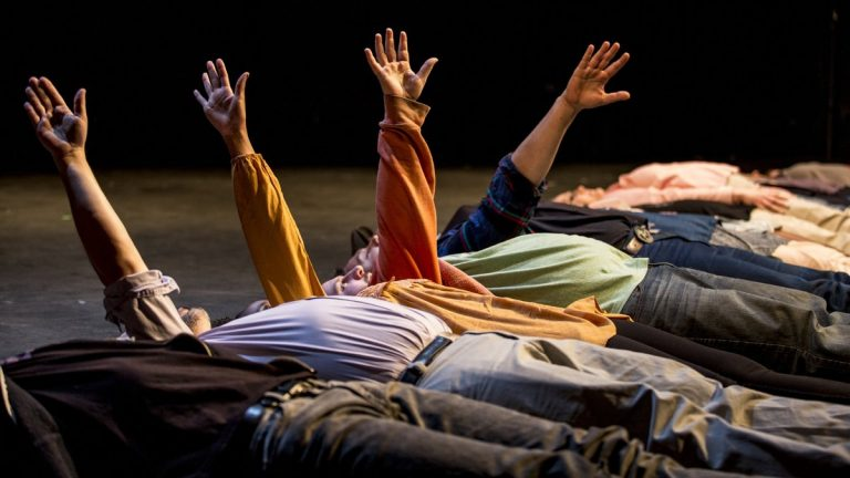 A scene from Pig Iron Theatre Company's 'A Period of Animate Existence.' (Photo courtesy of Maria Baranova)