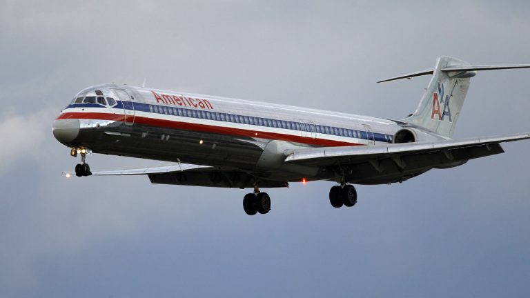 An American Airlines flight nears Philadelphia International Airport. AP file photo)