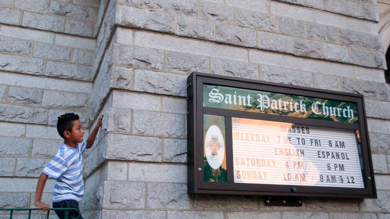 St. Patrick's Church in Norristown (Bastiaan Slabbers for WHYY)